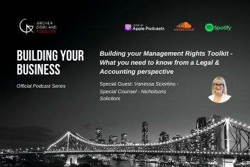 Building Your Management Rights Toolkit – An Accounting & Legal Perspective